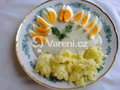 Velmi rychlá a jednoduchá omáčka pro toho, kdo nemá čas vařit. Risotto, Eggs, Breakfast, Ethnic Recipes, Food, Eat Lunch, Breakfast Cafe, Meal, Egg