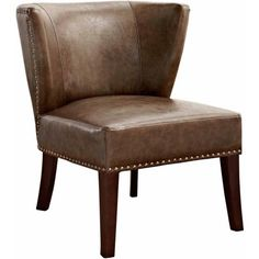 Brooklyn and Max Ferguson Accent Chair, Brown