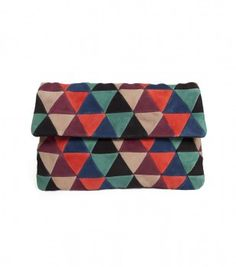 Gorman patchwork clutch