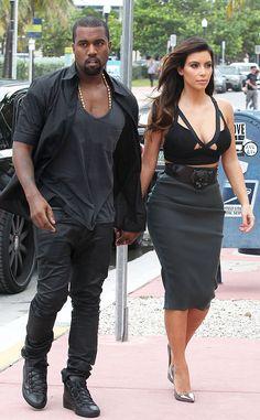 Kim Kardashian & Kanye West, quality!