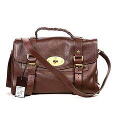 c7eb2f7585 Mulberry Alexa Leather Satchel Bag Brown Mulberry Alexa, Mulberry Bag, Satchel  Bag, Leather