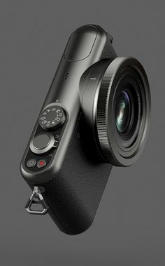 Camera, radius, fillet, soft, anodized, aluminium, matte, black