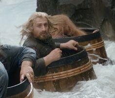 Fili the Barrel Rider The Hobbit Movies, O Hobbit, Fili Und Kili, Legolas And Tauriel, Lotr Cast, Dean O'gorman, Desolation Of Smaug, An Unexpected Journey, Jrr Tolkien
