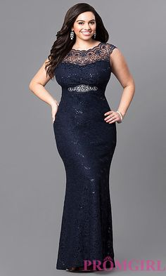 Shop Prom Girl for prom dresses, prom shoes, homecoming dresses, plus size formal dresses, and evening gowns and accessories for special occasions Best Plus Size Dresses, Plus Size Holiday Dresses, Best Formal Dresses, Formal Prom, Dress Formal, Formal Wear, Cute Dress Outfits, Cute Dresses, Casual Dresses