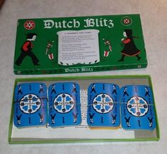 Vintage Dutch Blitz Card Game 1973 Daystar #DutchBlitz