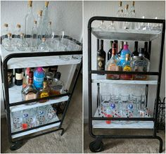 Ikea Hack Sunnersta Bar Cart