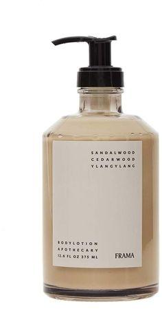 Body lotion - Frama St Paul's Apothecary Body Lotion – Body lotion Skincare Packaging, Beauty Packaging, Cosmetic Packaging, Bottle Packaging, Brand Packaging, Packaging Inspiration, Cosmetic Design, Bottle Design, Grafik Design