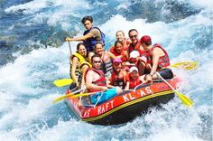 #River_Rafting is best enjoyed in the sacred valley of Rishikesh which boasts of the Great Ganges River descending with an ultimate force and existing exactly as the creator intended her to be- Wild and Free.