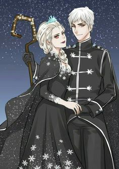Image discovered by July Balam. Find images and videos about love, dark and jack frost on We Heart It - the app to get lost in what you love. Jack Frost E Elsa, Dark Jack Frost, Jack And Elsa, Disney Pixar, Disney And Dreamworks, Disney Animation, Disney Art, Frozen Love, Elsa Frozen