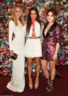 Good times!Kimberly Garner, Bip Ling and Coco Smith donned very different look for their fashionable night out