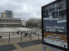 La base de vitesse de #Brest s'affiche en ville ! Un bel espace de visibilité sur 40 affiches depuis une semaine offertes par Brest Métropole Océane, merci à eux ! http://www.basevitessebrest.com/actualites-voile/153-affiches-brest.html