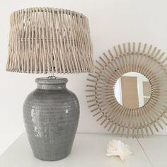 Lampa keramik grå från Light Living hos Longcoast Living