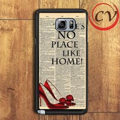 There's No Place Like Home Samsung Galaxy Note 5 Case