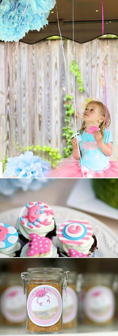 Summer Kids Party Idea, Custom Labels from Bottle Your Brand, images by Cellar Door Photography