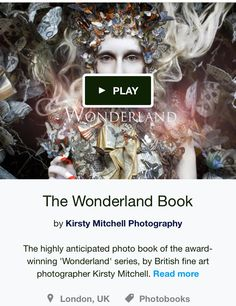 The Wonderland Book is now funded! Click on image to pre-order your book on Kickstarter.