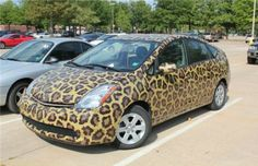 What do you think of this cheetah paint job on this Toyota Prius...would you buy it if Maita Toyota of Sacramento had it on the lot?