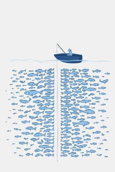 There are many fishes in the sea, they said.