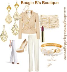 """""""Bougie B's Boutique - Creme Bougie"""" by bougie-bees-boutique on Polyvore"""