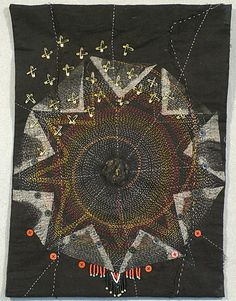 sweetpeapath: African Seed by Carrie Varjavandi courtesy of Edge - Textile Artists Scotland