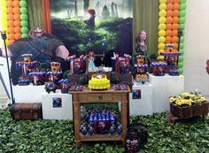 Mesa dulce brave party por Danny Machado
