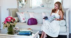 Behind the scenes: a look inside Catriona Rowntree's family home