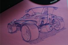 Concept Sketches - Linework - Single concept per page by Jeff Smith at Coroflot.com
