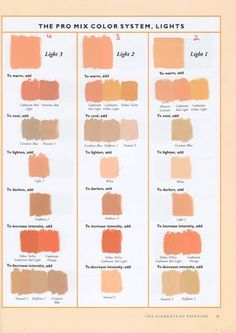 Watercolor skin tones tutorial by death-g-reaper on DeviantArt Skin Color Paint, Mixing Paint Colors, Paint Color Chart, Color Mixing Chart, Color Combos, Oil Painting Tips, Painting Lessons, Painting Techniques, Urban Painting