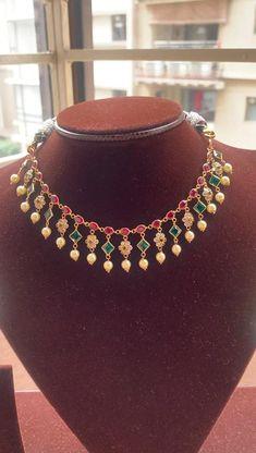 Wedding Jewelry, Gold Jewelry, Beaded Jewelry, Jewelery, Beaded Necklace, Necklaces, Gold Designs, Gold Earrings Designs, Necklace Designs