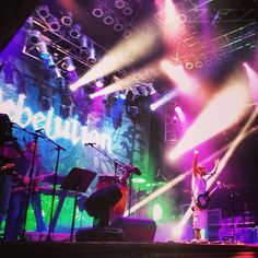 Reggae dub stylings of Rebelution live on stage at House of Blues Las Vegas! Hands up! Snapped by fan Nikki Mango on Instagram.