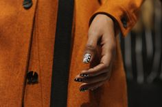 CND custom nails, created in collaboration with celebrity nail artist Naomi Yasuda, hit the runway at Opening Ceremony's F/W 2015 #NYFW show. #OpeningCeremony #CNDatFashionWeek