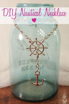 DIY Nautical Necklace | Flights of Delight