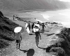 UPSTAIRS // (GREAT SURF ART) leroy grannis | Artist: LeRoy Grannis, Title: Palos Verdes Cove