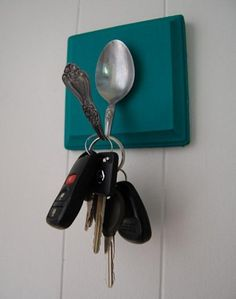 craft ideas for interior decorating with folks and spoons