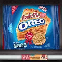Oreo Apple Pie Sandwich Cookies, Ounce *** Learn more by visiting the image link. (This is an affiliate link) Weird Oreo Flavors, Pop Tart Flavors, Cookie Flavors, Graham Cookies, Oreo Cookies, Oreos, Tortas Deli, Gourmet Recipes, Snack Recipes