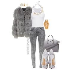 A D. Ni'Cole inspired look.  Click the link in the bio for fit details. Search for the POLYVORE tab.