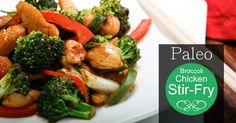 Broccoli Chicken Stir-Fry - Paleo Recipe