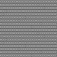 Robot Binary (Gray & White) by robyriker