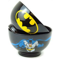 Holy crap! I need these bowls in my life. Breakfast would be so awesome with these and a batman mug!