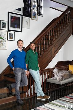 See the the five-story, 19th-century Harlem townhouse of Neil Patrick Harris and David Bertka.