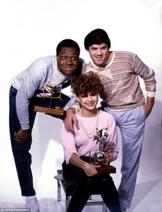 Comedians Lenny Henry (left), Tracey Ullman (centre) and David Copperfield (right) - the stars of the BBC comedy show Three Of A Kind in 1983 Comedy Tv, Comedy Show, Lenny Henry, Tracey Ullman, Prince Andrew, New Series, Films, Movies, Funny People