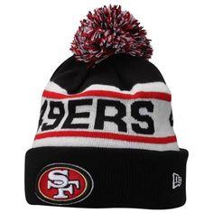 San Francisco New Era Biggest Fan Redux Knit Beanie – Black from Fanatics. Pom Pom Beanie Hat, Knit Beanie, Beanie Hats, Beanies, Men's Hats, Animal Print Outfits, San Francisco 49ers, Baseball, Unisex