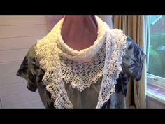 Summer Sprigs Lace Shawl Crochet Pattern Review - YouTube