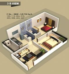 Kolbaswami Developers and Builders Residency Floor Plan sq ft) 750 sq ft) 30x40 House Plans, 3d House Plans, House Plans Mansion, House Layout Plans, Home Design Floor Plans, 2 Bedroom House Design, 2 Bedroom House Plans, Bungalow House Design, Simple House Design
