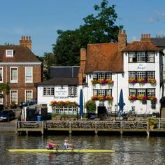 The Angel on the bridge, Henley-on-Thames, England