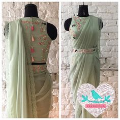 Green roses and bird with belt summer by priyanka Gupta.27 October 2016