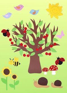 summer tree crafts  |   funnycrafts