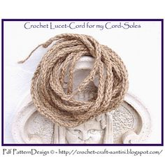 FREE TUTORIAL for Crocheted LUCET-CORD