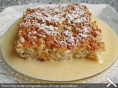 Reisauflauf mit Äpfeln, ein beliebtes Rezept aus der Kategorie Reis/Getreide. Bewertungen: 63. Durchschnitt: Ø 4,3.