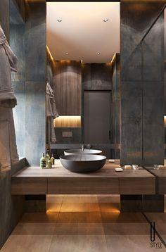 Washroom Design, Toilet Design, Bathroom Design Luxury, Modern Bathroom Design, Interior Design Kitchen, Wc Design, Bad Inspiration, Bathroom Design Inspiration, Bathroom Styling