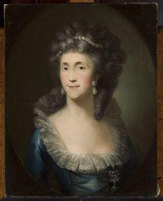 Muzeum Cyfrowe dMuseion - Portret Ludwiki z Zyberków Borchowej, żony Jana, kanclerza wielkiego koronnego, malarz polski